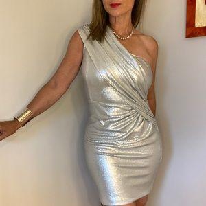 Twenty Cluny silver sequin dress size 8